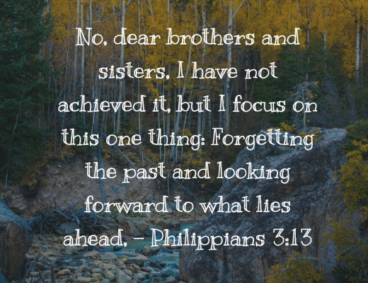 Daily Bible Verse and Devotion - Looking Ahead