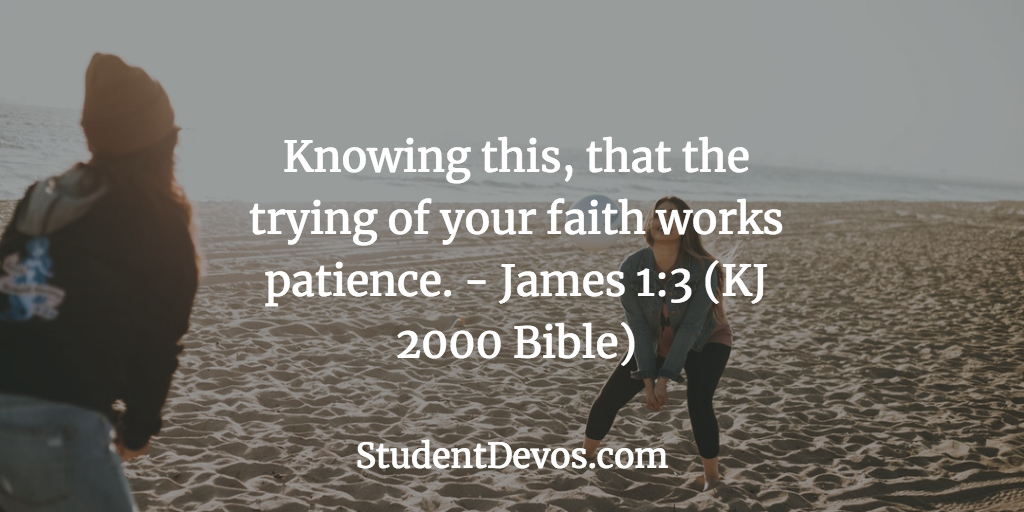 Devotion on being patient