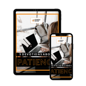 5 devotions about patience ebook icon