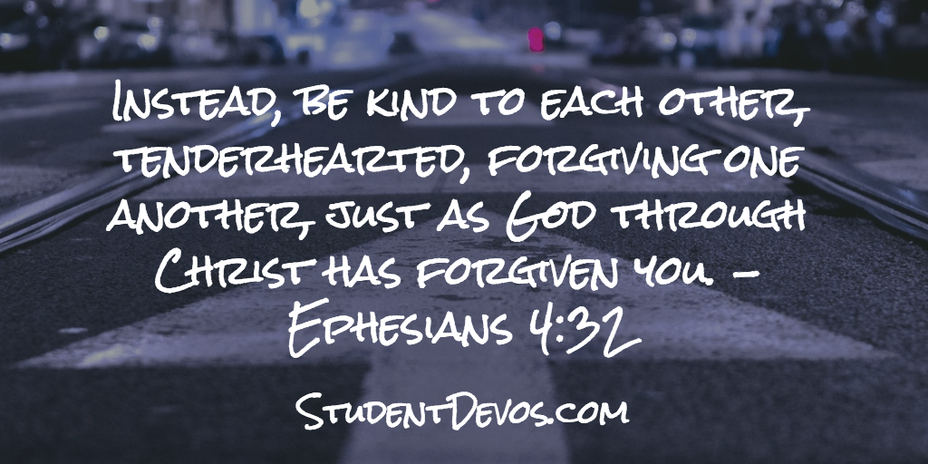 Ephesians 4:32 - Kindness youth devotion