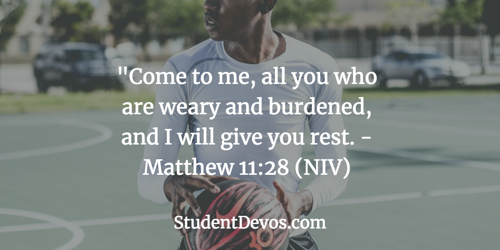 Teen Devotion and Bible Verse on Weariness