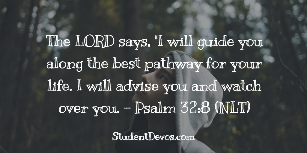 Teen Devotion - Bible Verse - God's Plan for your life