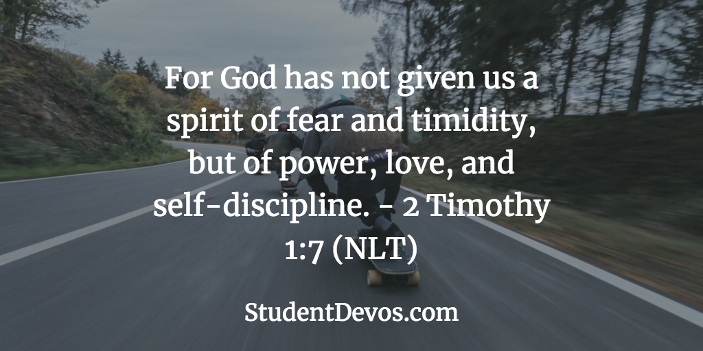 Daily Bible Verse and Devotion on Fear
