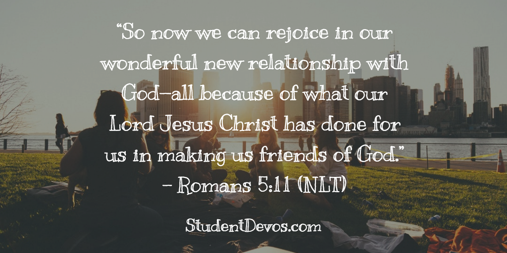Teen Daily Devotion - Relationship With God