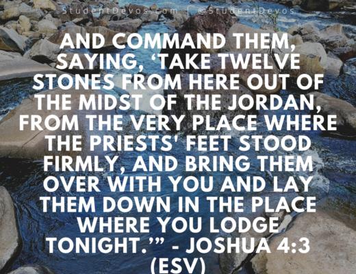 Joshua 4:3