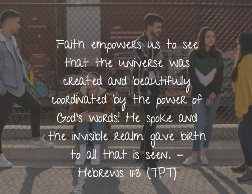Teen Devotion - Faith and Power of your words