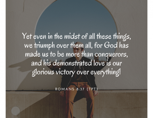 Teen Devotion and Bible Verse on Romans 8:37