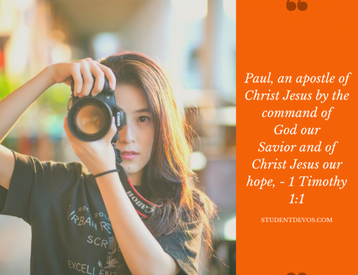 Daily Bible Verse and Devotion on Purpose