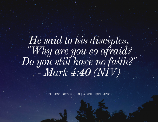Daily Bible Verse and Devotion - Fear