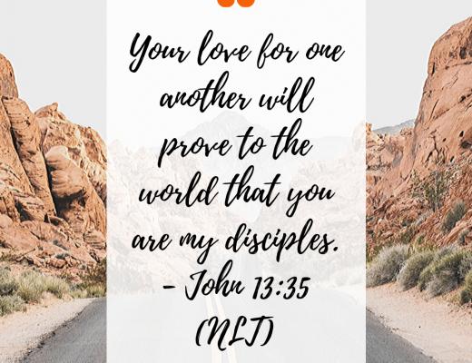 Teen Devotion and Bible Verse John 13:35