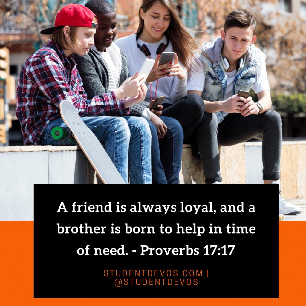 Teen Devotion on Friendships