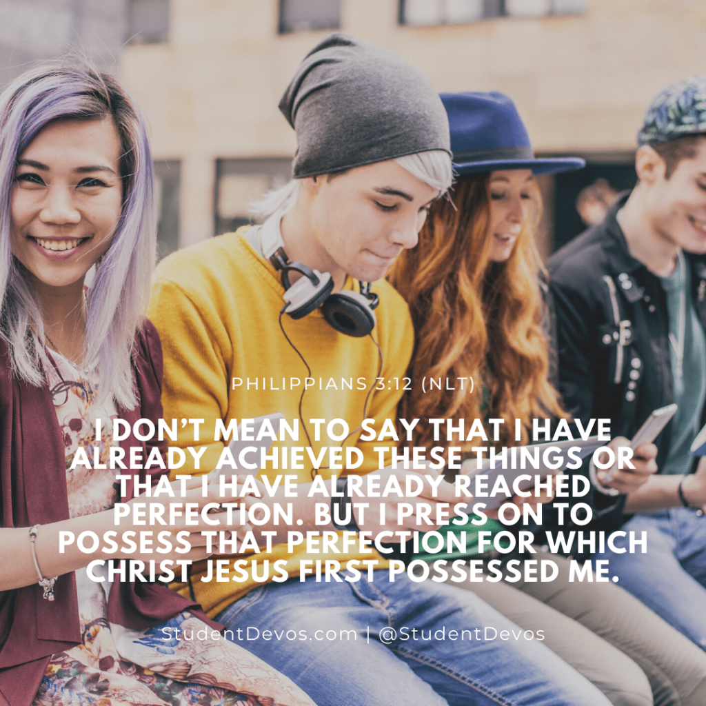 Teen Devotion and BIble Verse