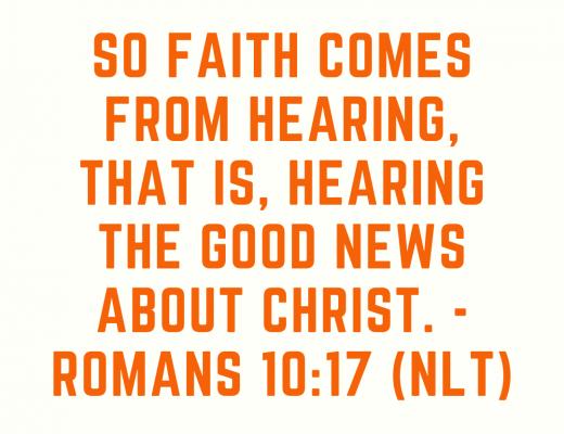 Teen Devotion on Growing your faith