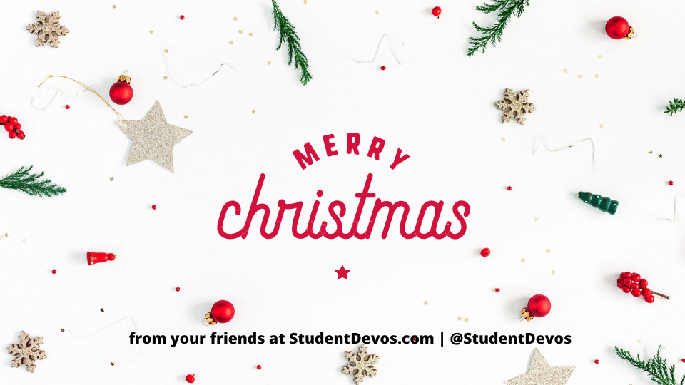 Merry Christmas from StudentDevos