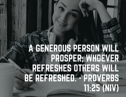 Teen Devotion and Bible Verse on Friendship