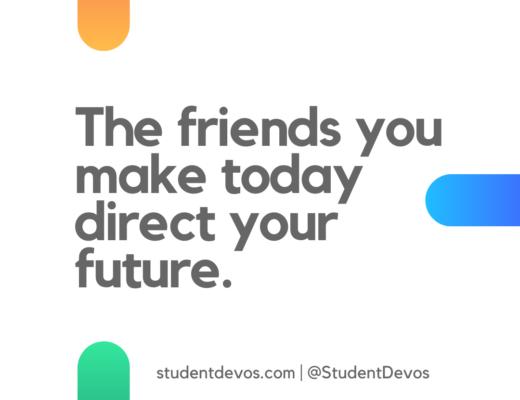 Teen Devotion on Friendship