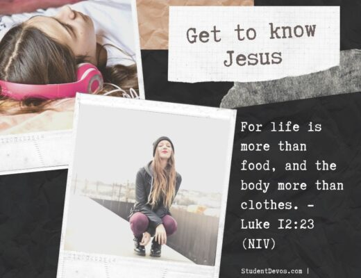 Knowing Jesus Teen Devotion