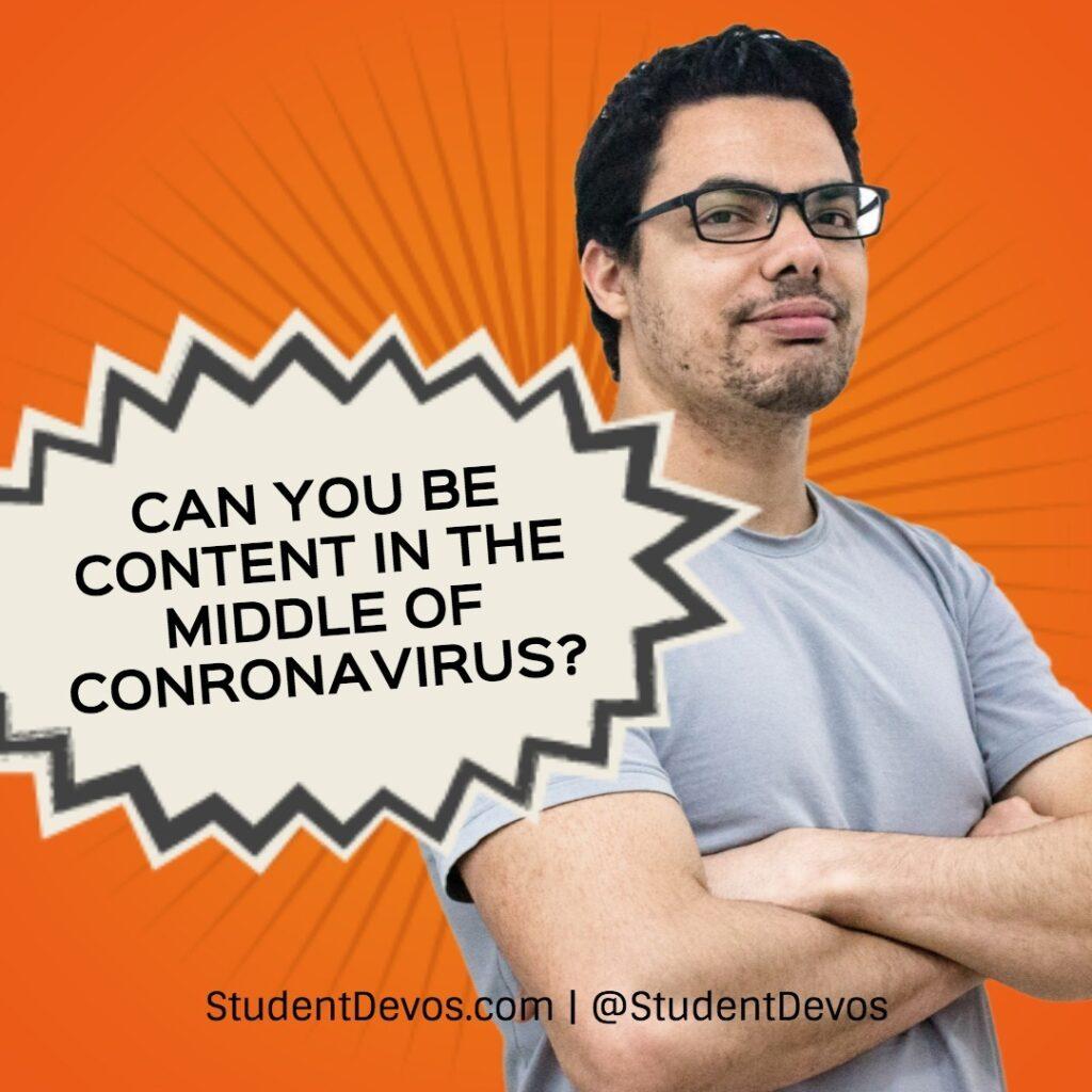 Coronavirus Devotion for Teens