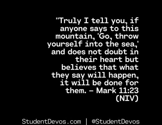 Teen Devotion on Doubt