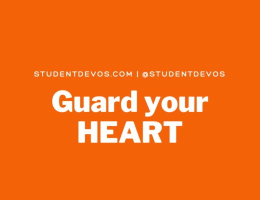 Teen Devotion Guard your heart