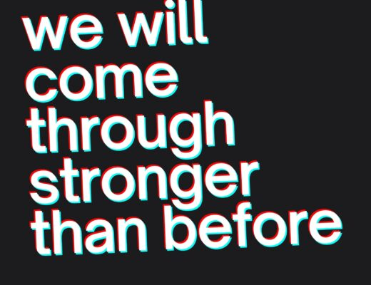Stronger than before graphic