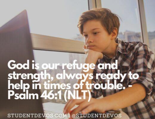 Teen Devotion on Help of God