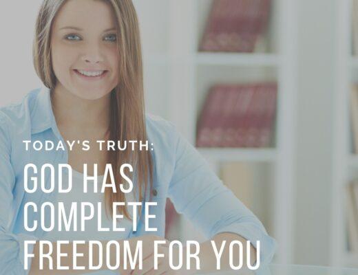 Teen Devotion on Freedom in Jesus