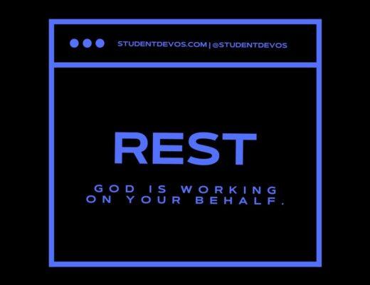 Devotion about rest