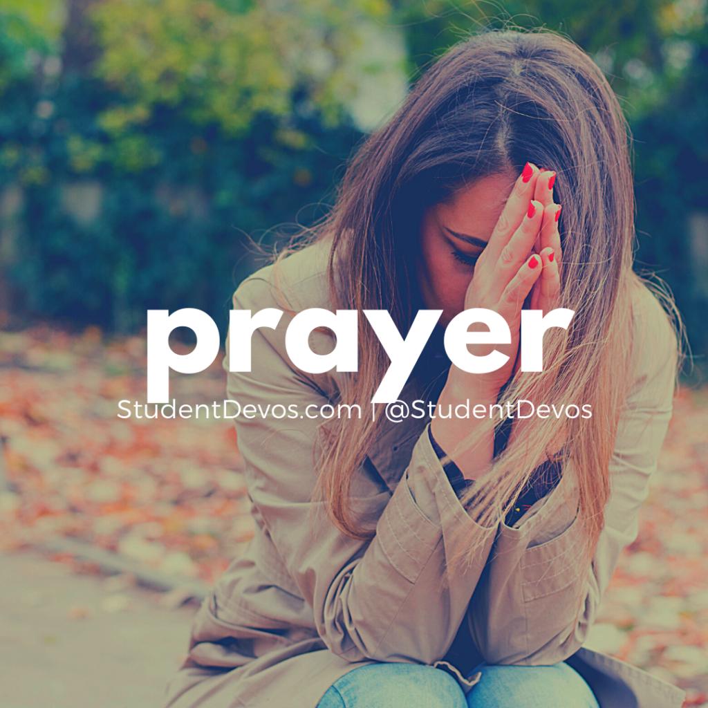 Prayer devotion