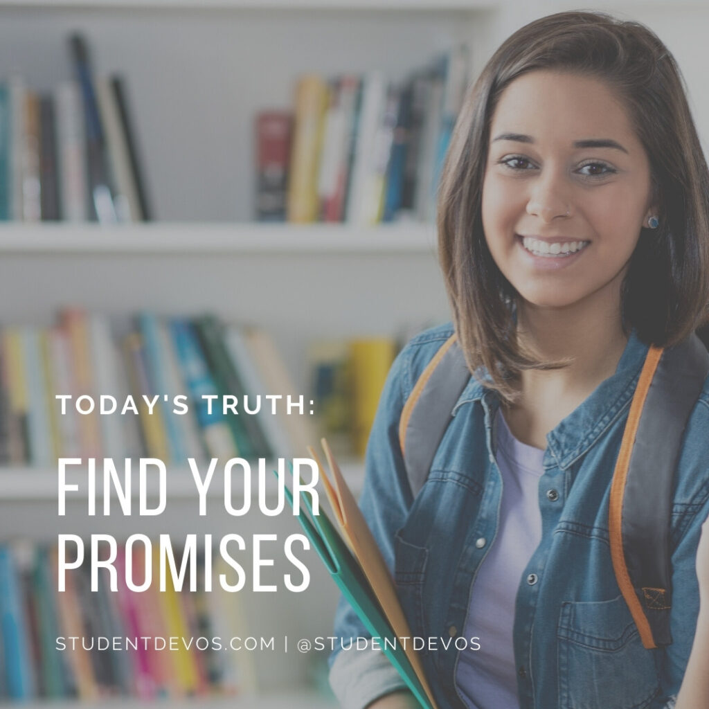 Teen Devotion Find your promises