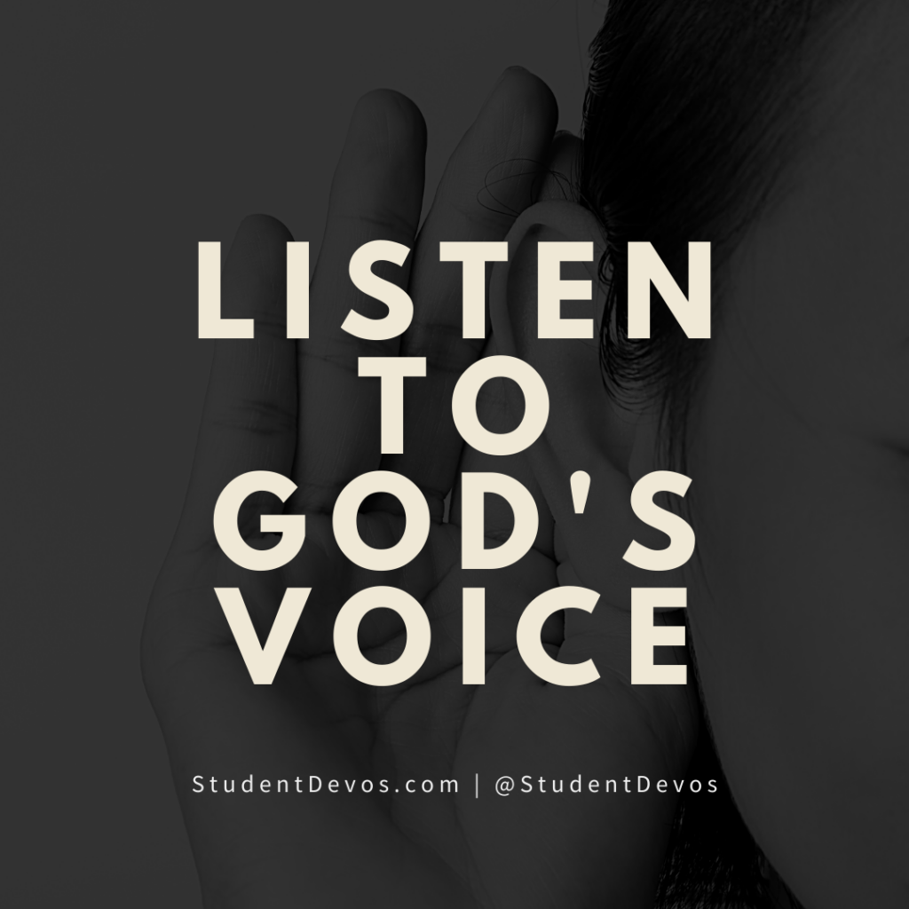 Icon for Listen to God's Voice
