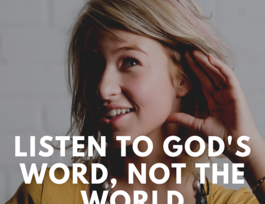 Teen Devotion on Listening to God's voice