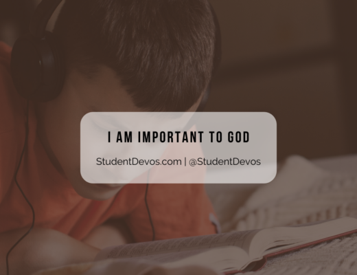 I am important to God