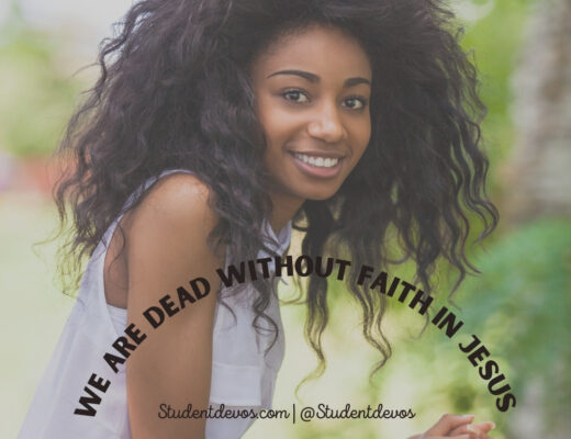 Dead without faith in Jesus