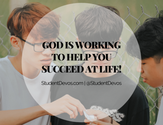 God Helping Succeed at Life