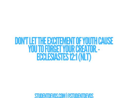 Ecclesiastes 12:1 (NLT)