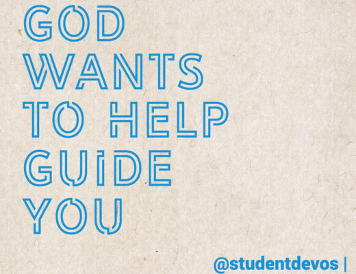 God Wants to Help Guide You