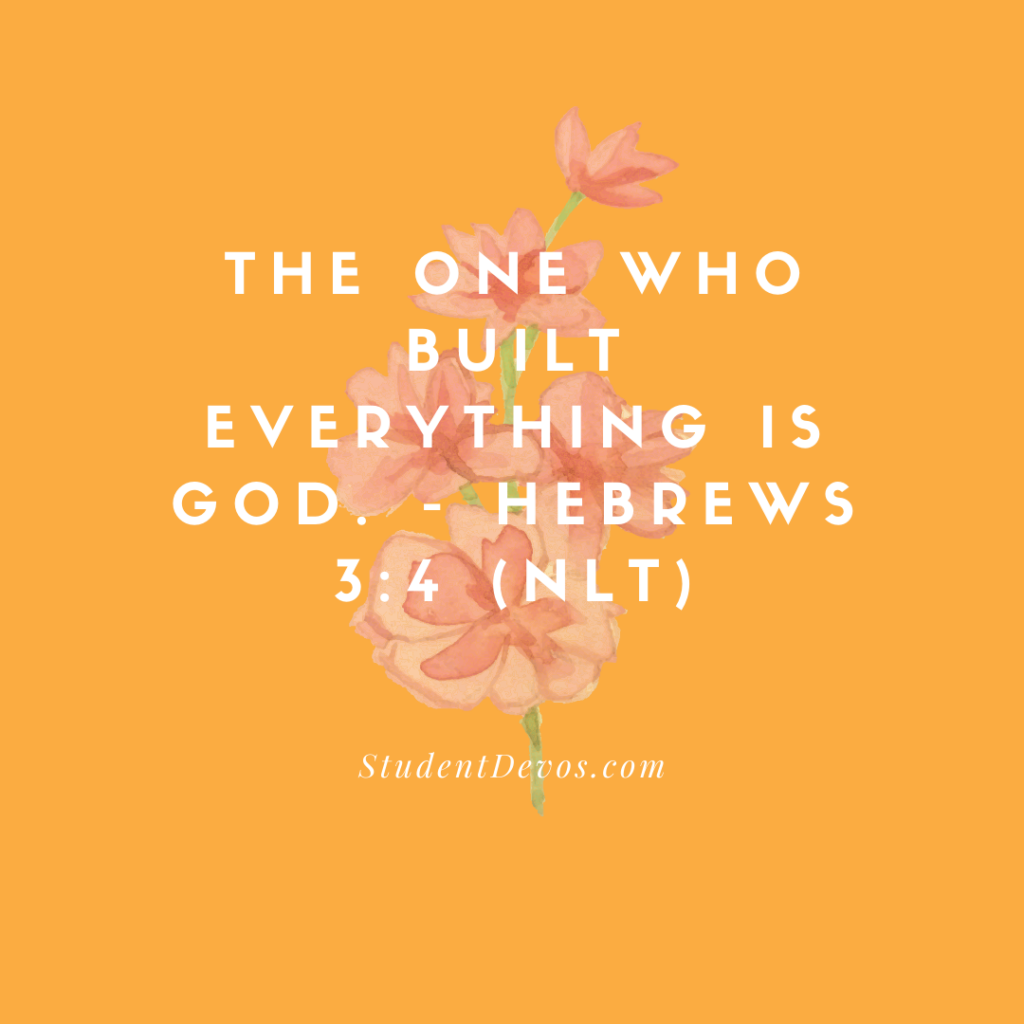 Hebrews 3:4 Teen Devotion Icon