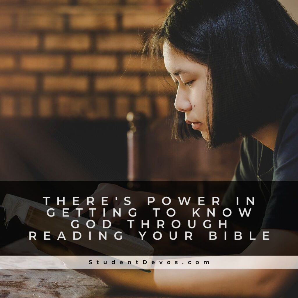 Reading your bible