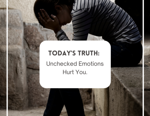 Unchecked Emotions Hurt You.