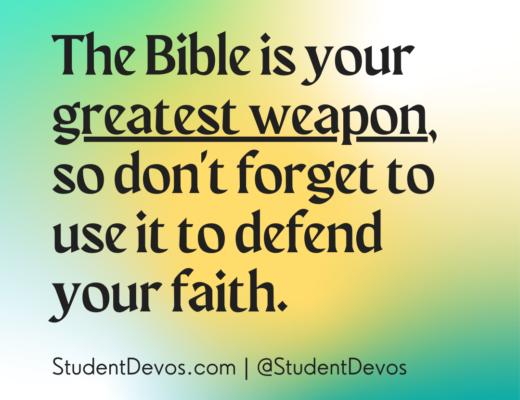 Bible Apologetics