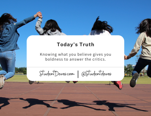 knowing what you believe teen devotion