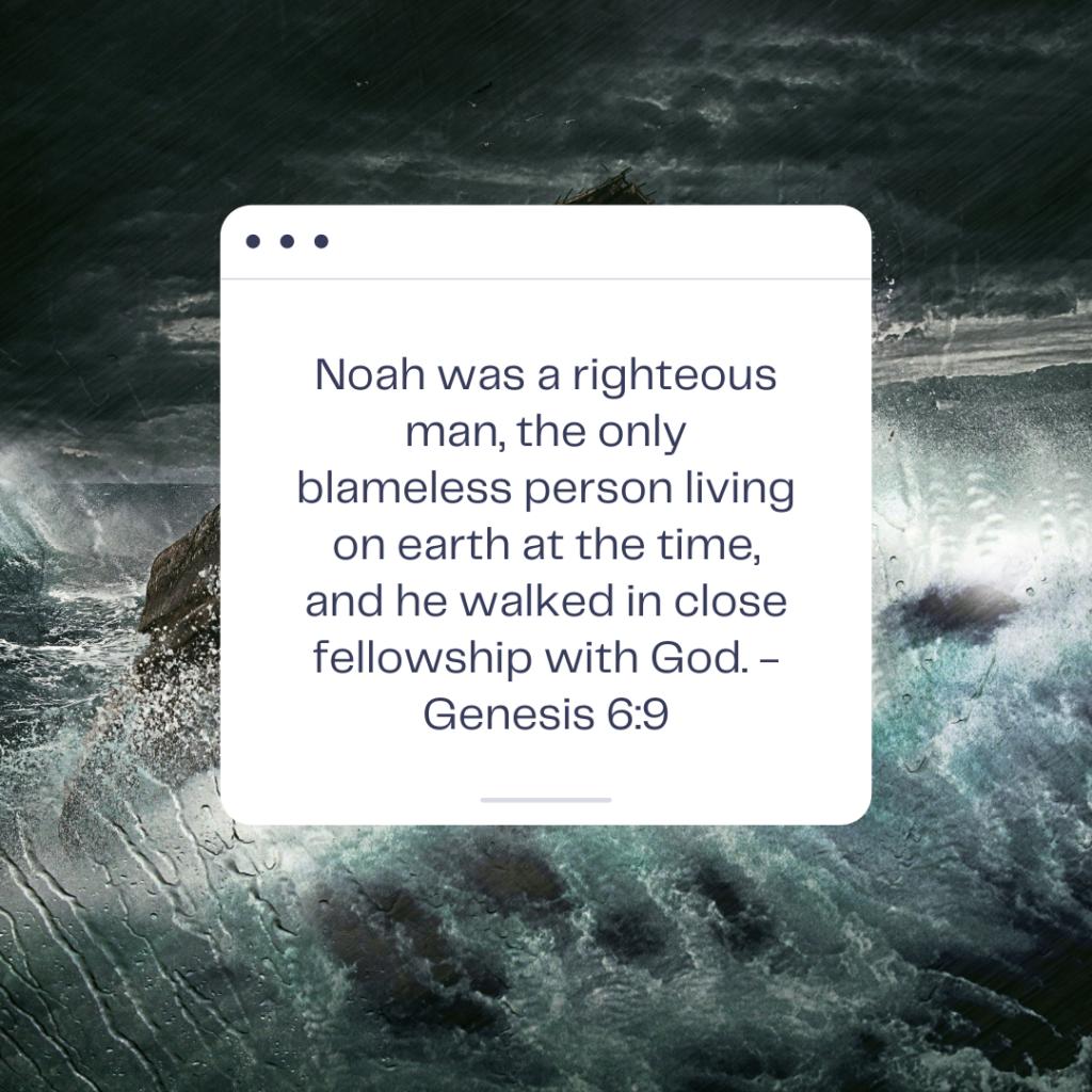 Genesis 6 Noah